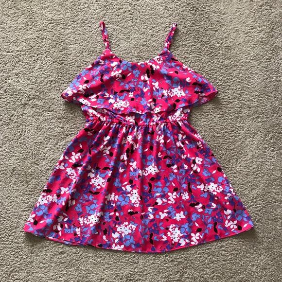 Elle Dresses & Skirts - Pink Floral Summer Dress